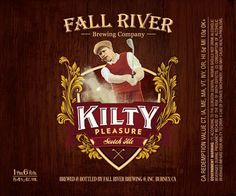 Fall River Brewing Kilty Pleasure Scotch Ale