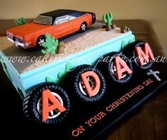 1969 Dodge/Valiant Charger Car Cake | www.cakemetoyourparty.… | Flickr
