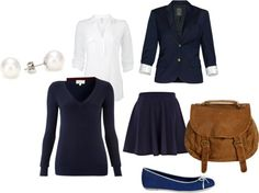 """""""Uniform Girl"""" by sohappiness ❤ liked on Polyvore"""