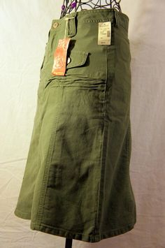 NWT UNIONBAY size 3 Skirt ~ Color ~ Soldier Green