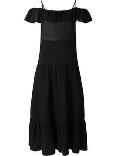 Shoppen Iro Schulterfreies Kleid mit Rüschen von Hayashi aus den weltbesten Boutiquen bei farfetch.com/de. In 400 Boutiquen an einer Adresse shoppen.