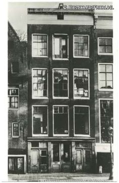 Amsterdam, Anne Frank Huis. Toestand 1940