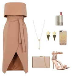 """Sans titre #133"" by meissa-sa on Polyvore featuring mode, Gianvito Rossi, Casetify, Anja, EF Collection et Ilia"