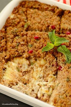 Brazilian Baked Kibbeh (Kibe Assado Recheado) - One of the best GROUND LAMB PIE with CHEESE FILLING ever...So comforting and easy to make!!!   #LocalLambGlobalFlavor #CleverGirls