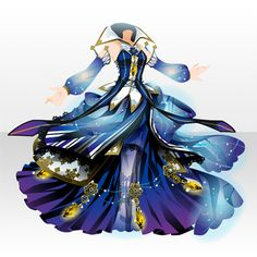 Amazing and very pretty dress Anime Outfits, Dress Outfits, Cool Outfits, Dress Up, Dress Drawing, Drawing Clothes, Fashion Design Drawings, Fashion Sketches, Look Fashion