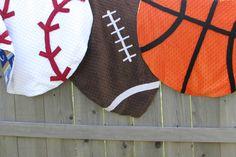 Basketball Soccer Baseball Blanket Sports activities Nursery Decor NFL MLB - http://babyfur.net/basketball-football-baseball-blanket-sports-nursery-decor-nfl-mlb/