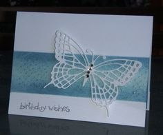 F4A178  QFTD173   White Butterfly