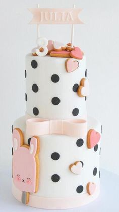 Taart Nila 2 jaar Toddler Birthday Cakes, Pink Birthday Cakes, Birthday Gifts For Girls, Birthday Cookies, Baby Birthday, Birthday Parties, Birthday Ideas, Birthday Party Invitations Free, Birthday Breakfast