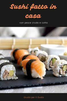 Cute Food, A Food, Good Food, Sushi Co, Kimbap, Sushi Recipes, Sashimi, Antipasto, Food Cravings