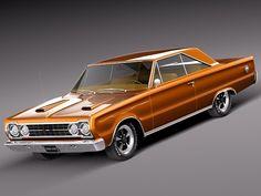 3d 1967 antique sport coupe