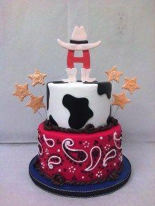 western cake idea