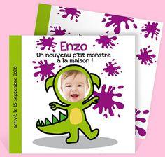 Faire-part naissance réf. N31104 chez monFairePart.com