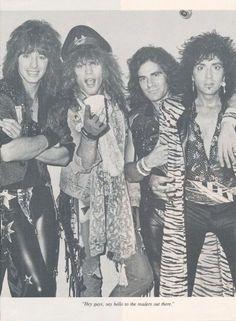 Bon Jovi. / I loved the 80's