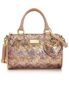Betsey Johnson Handbag, Holiday Satchel - Handbags & Accessories - Macy's