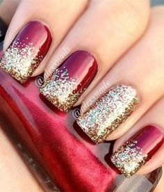 30 Christmas Nail art Designs and Ideas