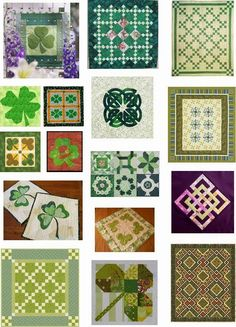 Free pattern day: St. Patricks Day - Quilt Inspiration