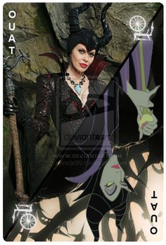 OUAT Card Maleficent by jeorje90.deviantart.com on @DeviantArt