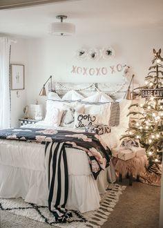 White Christmas Girls Bedroom