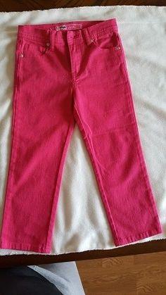 Girls Jeans U-51 Kids Size 5 Pink Authentic Denim Regular Fit Clothing NEW #U51 #Everyday