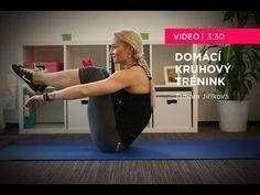 Tamara Jiříková - Domácí kruhový trénink - YouTube Exercise, Gym, Music, Fitness, Youtube, Ejercicio, Musica, Musik, Excercise