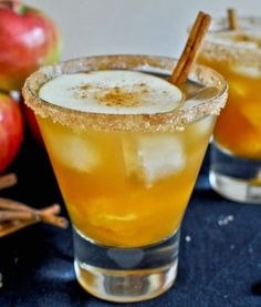 Lily Lemontree: THE COCKTAIL HOUR :: Apple Cider Margaritas
