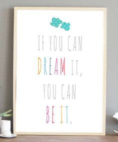 'If You Can Dream It'//