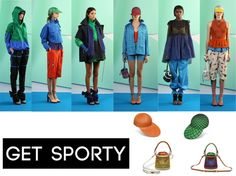 Olympics Fever! It's time to get sporty this month. Kenzo Spring/Summer 2012 Collection