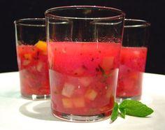 watermelon gazpacho - no tomato needed :)