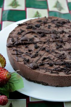 Instant Eggless Chocolate Mousse Cake.