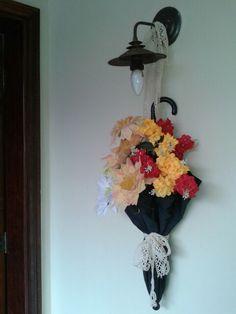 As flores...