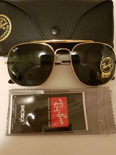 c2abcb4c75 Authentic Ray-Ban RB3561 197 11 Gold Frame   Grey Gradient Sunglasses   fashion  clothing  shoes  accessories  unisexclothingshoesaccs   unisexaccessories