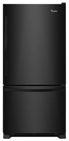 33-inches wide Bottom-Freezer Refrigerator with SpillGuard Glass Shelves - 22 cu. ft Model # WRB322DMBB