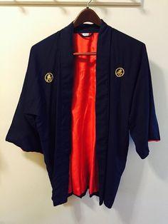 Vintage 100% Silk Japanese Smoking Jacket/Robe by SCFinds on Etsy