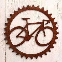 Speed Demon Road Bike Bicycle Art Steel Wall Art