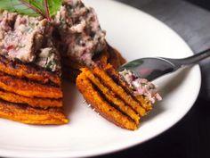 Carrot Pancakes, Gluten Free Cooking, Carrots, Steak, Vegan, Vegetables, Kitchen, Recipes, Food