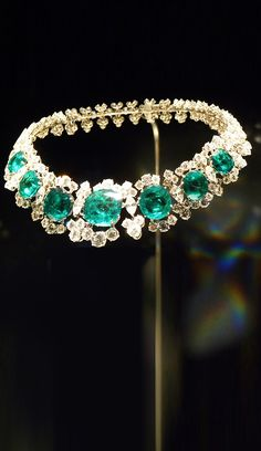 Bvlgari Heritage Collection ~ emeralds and diamond necklace