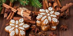 Mery Chrismas, Czech Recipes, Fancy Cookies, Cake Art, Biscotti, Gingerbread Cookies, Food Art, Projects To Try, Food And Drink