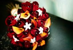 Red, Black, White, and Gold wedding - Bing Images