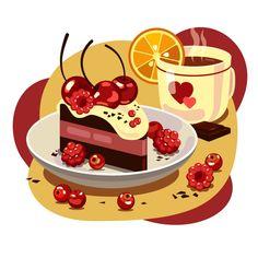 Фотографии Школа векторной графики | Pixel – 20 альбомов Graphic Design Illustration, Digital Illustration, Vector Design, Vector Art, Character Art, Character Design, Posca Art, Food Drawing, Food Illustrations