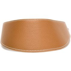 fd77dfdcd94 Erika Cavallini Leather Visor ( 81) ❤ liked on Polyvore featuring  accessories