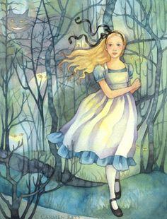 Alice in Wonderland: the Tulgey Wood - Carmen Keys-Medlin