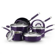 10-Piece Cookware Set - Rachel Ray Kitchen - Events