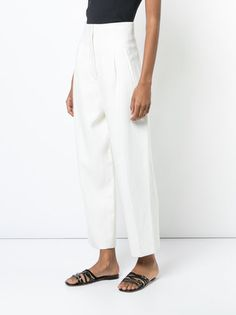 Rosetta Getty high-waisted cropped trousers