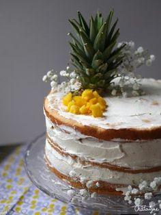 Naked cake fruits ex Homemade Birthday Cakes, Birthday Cakes For Men, Men Birthday, Cake Birthday, Cheap Clean Eating, Clean Eating Snacks, Nake Cake, Cake Design For Men, Cake Aux Fruits