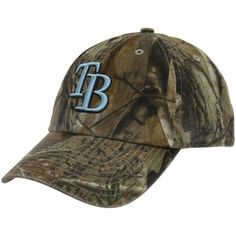 3c1aa9b10a9  47 Brand Tampa Bay Rays Real Tree Camo Cleanup Adjustable Hat by Twins