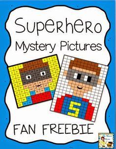 Superhero Mystery Pictures - Exclusive Fan Freebie