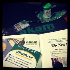 We are spending some time putting together a bag full of AKAM swag for all our future employees! Inquire by sending your resume and CV to hr@akam.com.