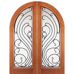 Arch And Round Top Wood Doors On Pinterest Double Entry