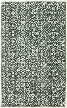 Serendipity 1800 Grey Rug. Currently $134. Hand-tufted wool