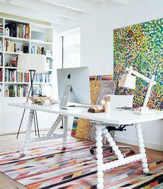 Danielle de Lange's Home Office